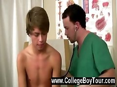 Gay XXX The doctor was tearing Eli&#039_s bootie up and commenced to shoot