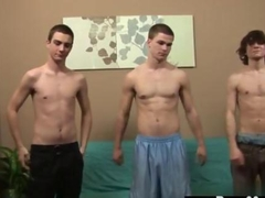 Amazing twinks strip and stroke their willies