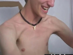 Gay clip of Taking some of the oil I slapped it on my cock and then commenced to put my