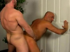 Hot gay scene Colleague Butt Banging