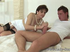Married Lady Milks her Toyboy