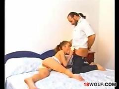 Petite Teen Girl Riding On Some Dick