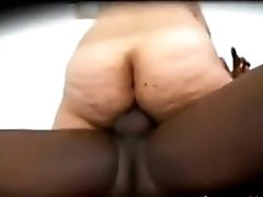Fat Latin Grandma Being Fucked By BBC
