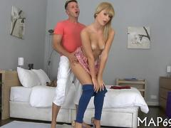 blonde slut sucking the dick like a proper hoe