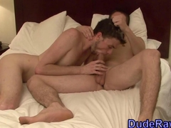 Twink just loves to blow on any pecker available