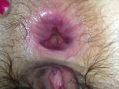 Wife anal fuck with huge gape