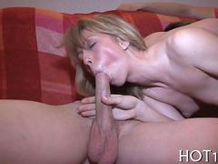 blonde slut will chest with a permission in a second