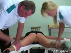 Her Boss Punished Her With Spanking