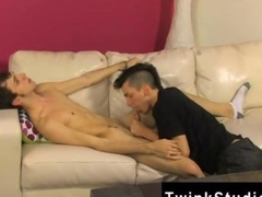 skinny twink is on the dick sucking it perfectly