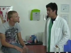 hot twink is at the doctors office getting sucked