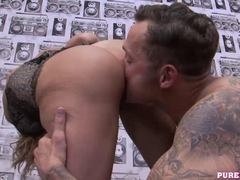 PURE XXX FILMS Corrupt police woman with huge tits