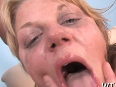 ass fucking the blonde whore in a hotel