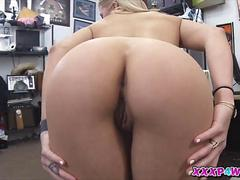 Sweet lovely blondie having her pussy fucked