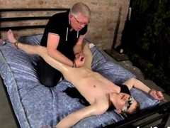 Oiled up amateur gets bound and sucked off