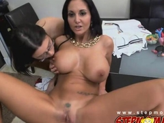 Sexy Ava Addams show her rounded tits