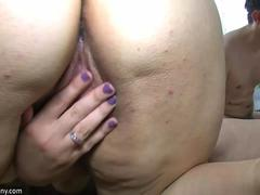 OldNanny Two lesbians Matures