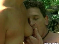 Horny Granny does musch younger guy
