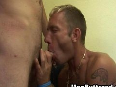 Gay Anal with Buttered Cum Ending