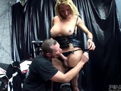 PINKO SHEMALES Busty Shemale Fucked Hard
