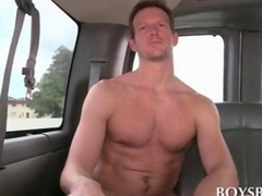 Sexy dude rides the boys bus for a good fuck