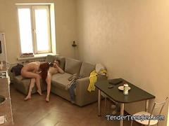 Inga And Classmate Enjoys Fucking On  The Spycam