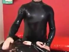 Amateur Lovers With A Major Latex Fetish