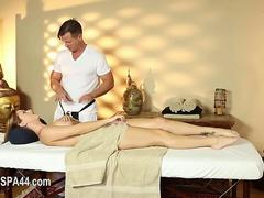secret masturbation and makinglove in special tricky spa clip