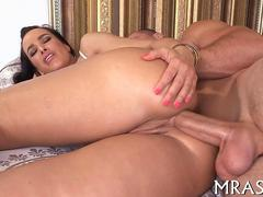 Milf porn star with giant jugs riding fucking in many positions