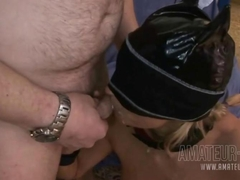 amateur event gangbang creampie party