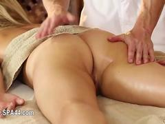 Very tricky spa of delicate masseur