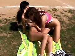 Nude teen girls cocks Sporty teenagers licking each other