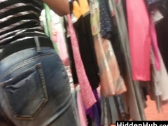 Latin MILF With A Great Ass At A Store
