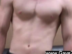 Gay video Spencer let go of his shaft and contracted his tummy muscles a few times so