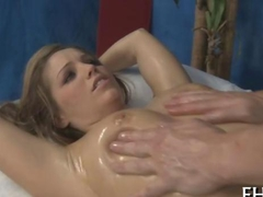 blonde babe loves to be fucked during her sexy massage