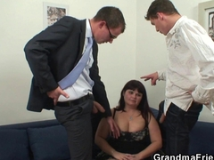 hot threesome and a nice dick suck