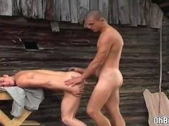 Twink suck an uncut thick dick fuck anal
