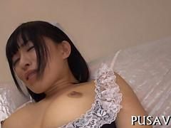 big cock hammers hot asian pussy video