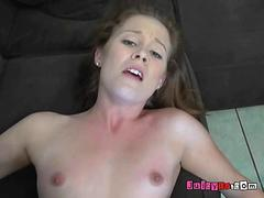 Redhead Cutie Misses Her BFs Cock And Jizz