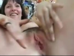 My Horny Girlfriend Plays With Her Pussy