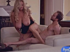 Giant boobs blondie wife Kelly Madison screwed up real good