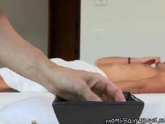 Hot Mom Gives Sensual Massage And Handjob