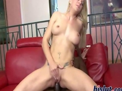Heidi is hot for cock