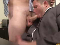 Twinks one on one blowjob and anal fucking inside the office