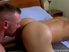 Gorgeous hunk loves eating hairy asses