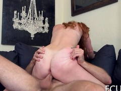 riding the dick and she gets slammed perfectly