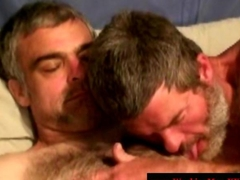 Hairy redneck getting sucked off