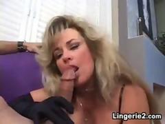 Blonde Whore Smoking And Giving Head