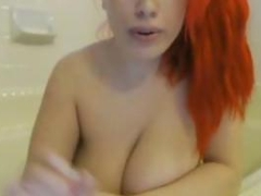 Giant Boobs On Webcam