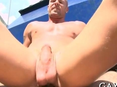 Sex ends with huge cum