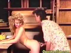 Eighties retro fuck movie